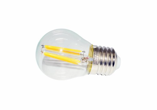LED filament lamp G45 E27 4 Watt 2700K Dimbaar