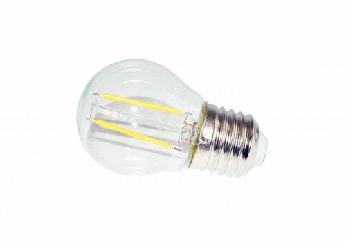 LED filament lamp G45 E27 2 Watt 2700K Dimbaar