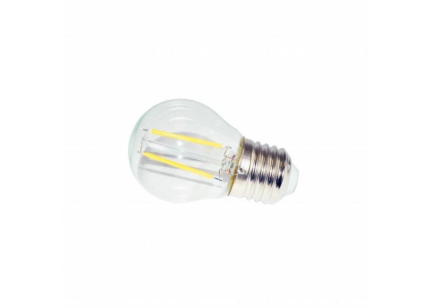 LED filament lamp G45 E27 2 Watt 2700K