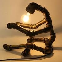 Tafellamp waterleiding man