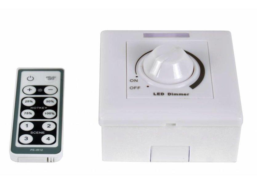 LED dimmer 100 Watt incl. afstandsbediening