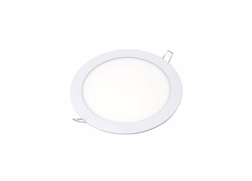 Rond LED paneel Ø 225 x 15 mm -18 Watt - 3000K - Crius