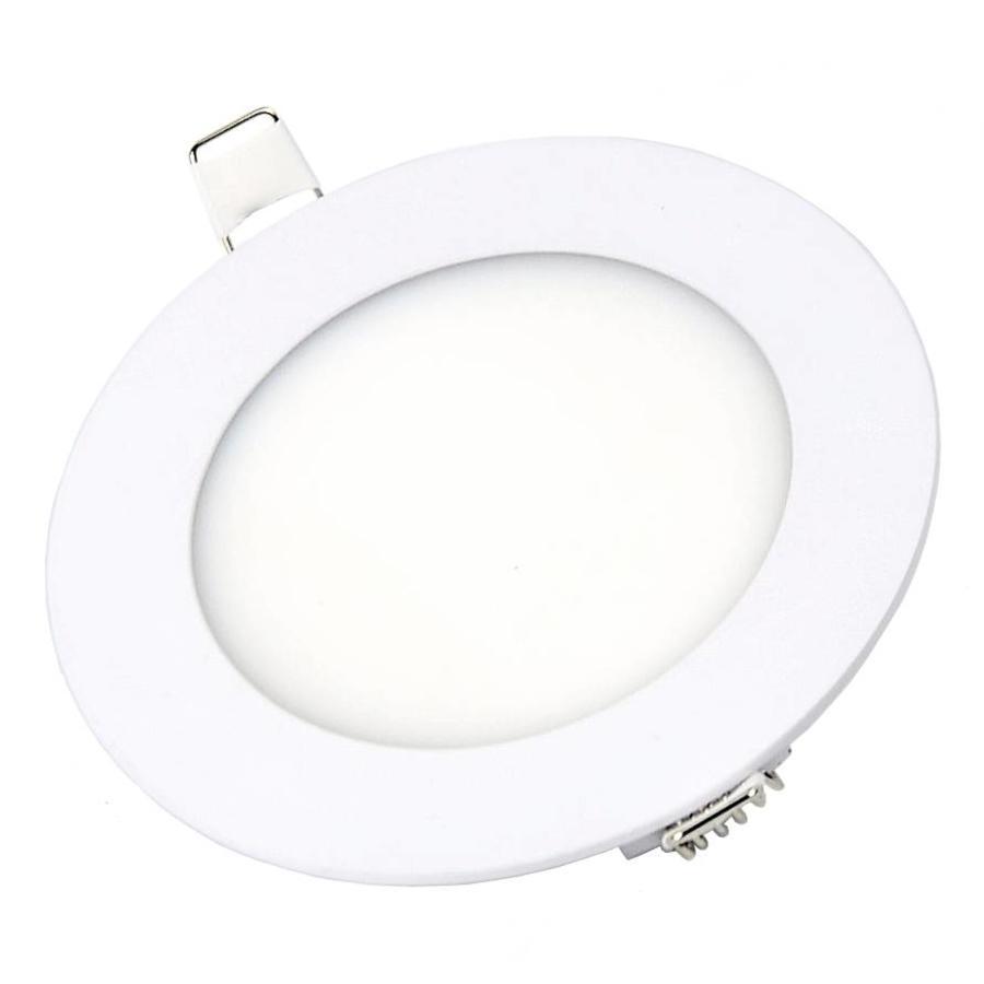Ronde LED inbouwspot Ø120 x 15 mm - 6 Watt - 3000K