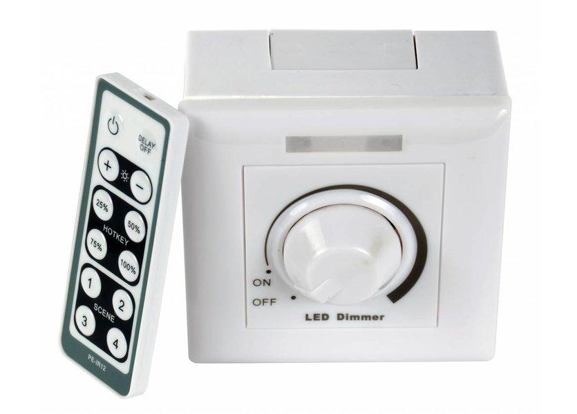 LED dimmer 200 Watt incl. afstandsbediening - Crius