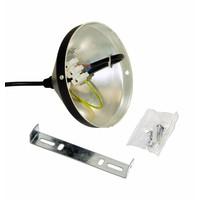 Zwarte kegelvormige hanglamp