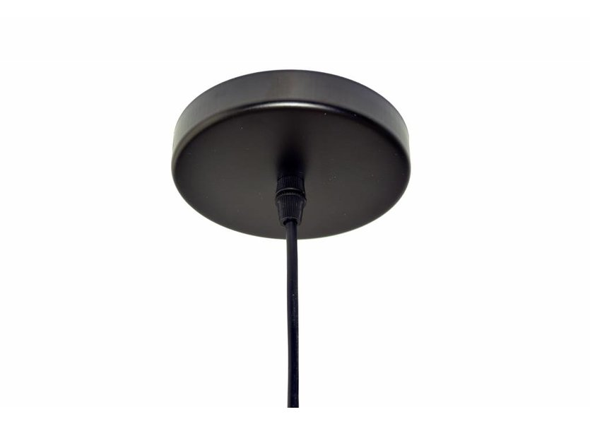 Industriële Driehoek Hanglamp Zwart - Scaldare Rolo