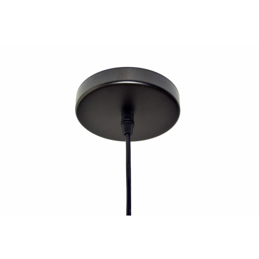 Zwarte draadhanglamp
