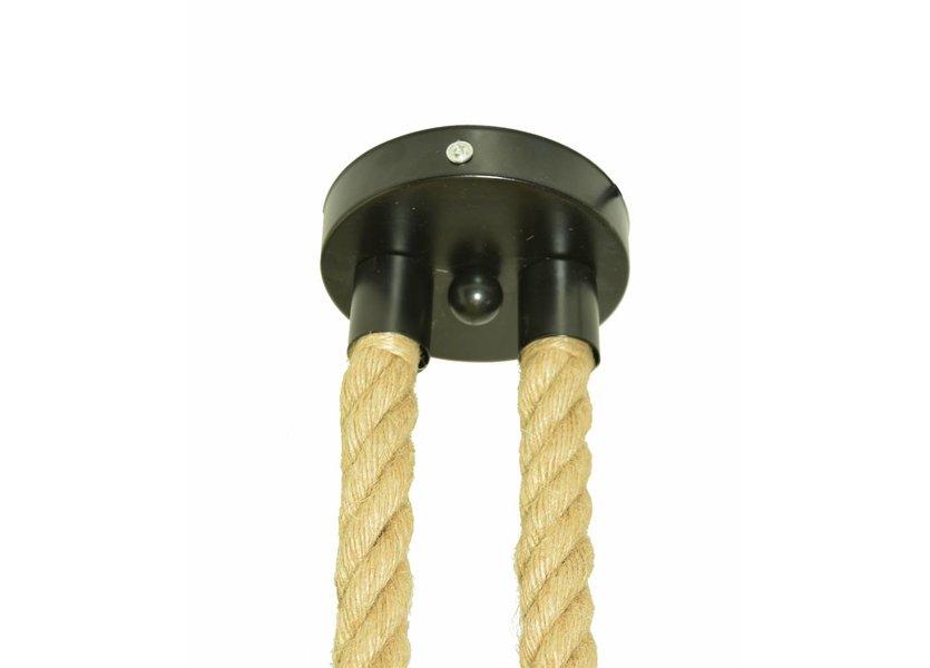 Industriële touw hanglamp