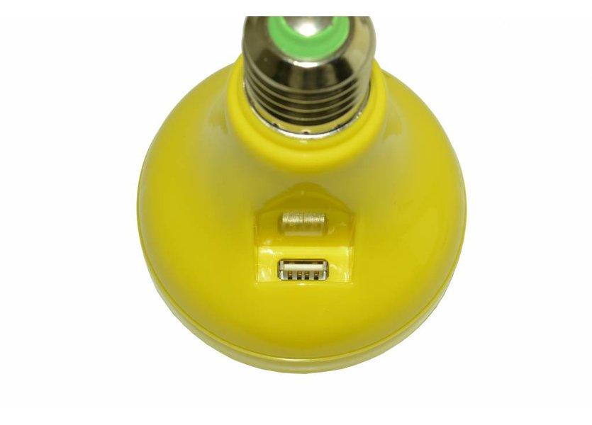 RGB LED Muzieklamp 12W Geel  E27 - Funnylights