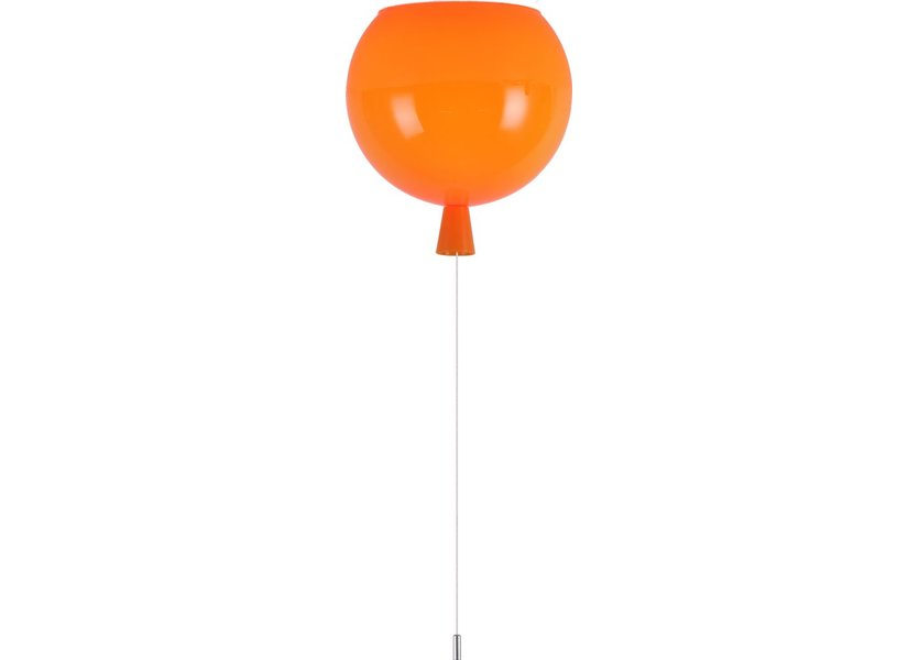 Plafondlamp Ballon Oranje Middelgroot inclusief 4W LED lamp - Funnylights