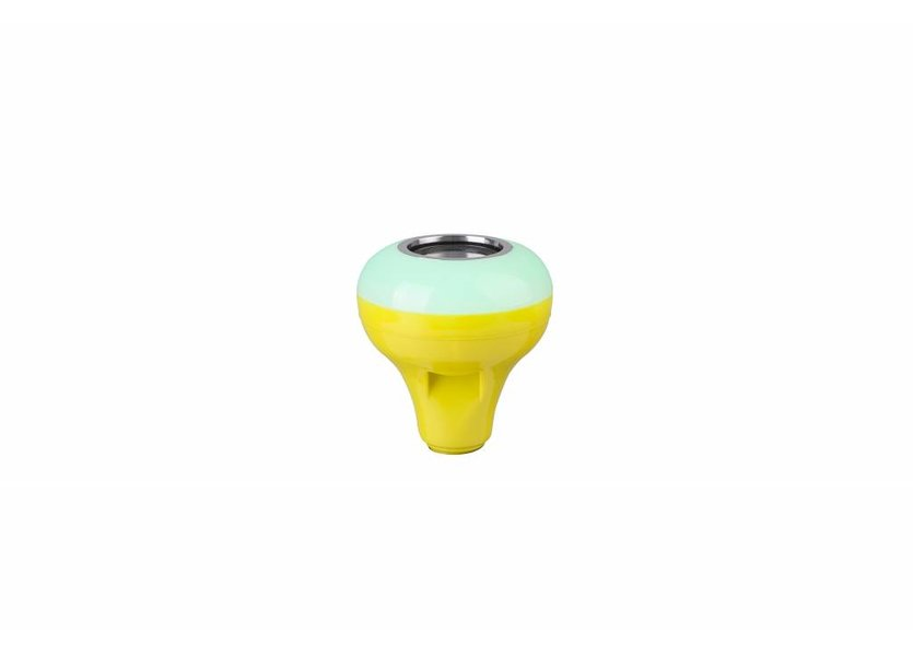 RGB LED Muzieklamp Bluetooth 12W Geel  E27 - Funnylights Uxie