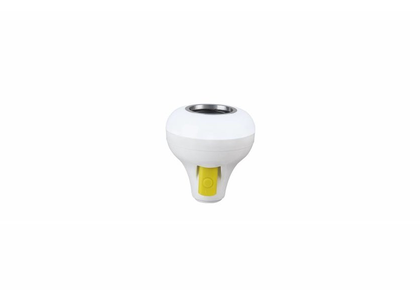 Muziek Lamp Wit RGB Led Bluetooth en USB- 12W