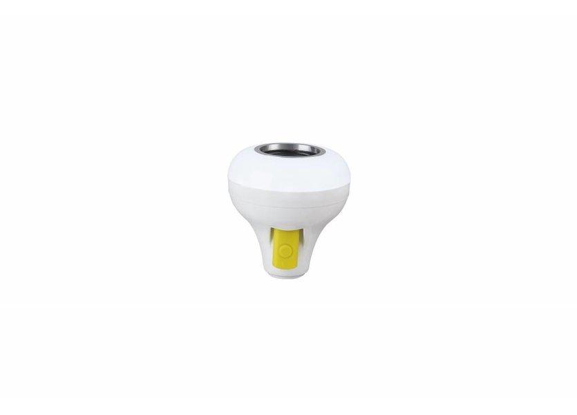 RGB LED Muzieklamp Bluetooth 12W Wit  E27 - Funnylights Uxie