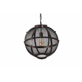 Scaldare Hanglamp Smeedijzer Zwart - Scaldare Acceglio