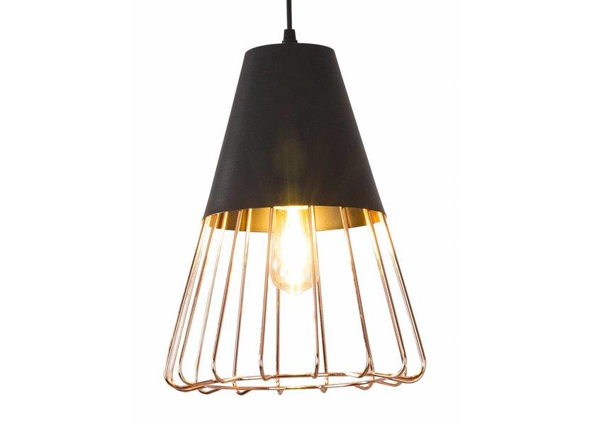 Hanglamp Draadstaal Koper - Scaldare Acerno