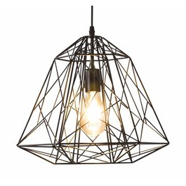 Scaldare Hanglamp Draadstaal Zwart - Scaldare Calavena
