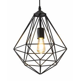 Scaldare Hanglamp Draadstaal Zwart - Scaldare Cabiate