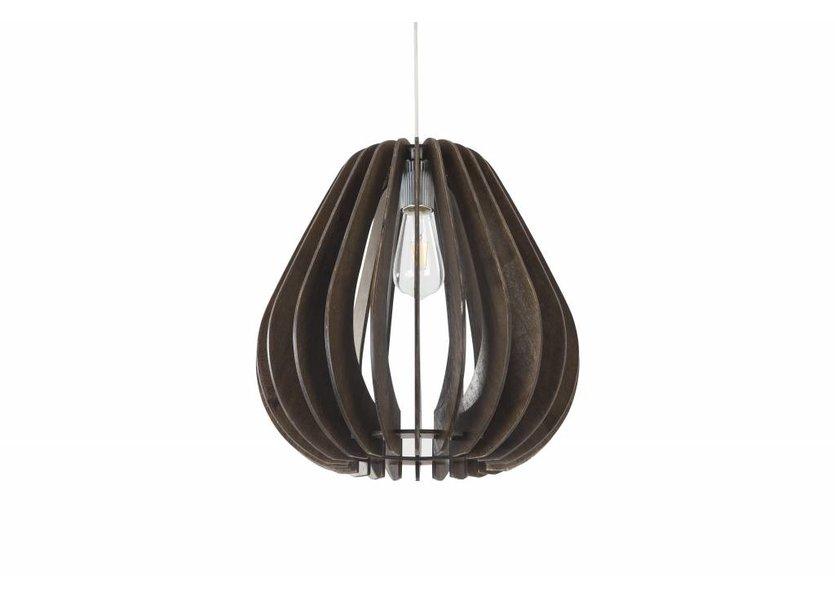 Hanglamp Hout Bruin 60 cm - Madera Haya