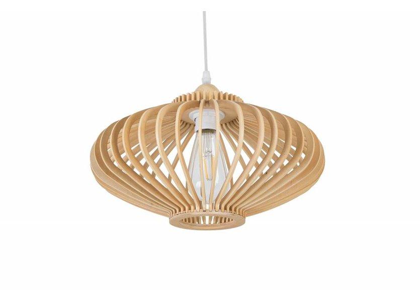 Hanglamp Hout Houtkleur - Madera Est