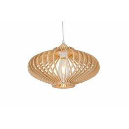 Madera Hanglamp Hout Rond Houtkleur 36 cm - Madera Est