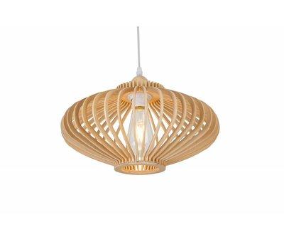 Madera Hanglamp Hout Rond Houtkleur 60 cm - Madera Est