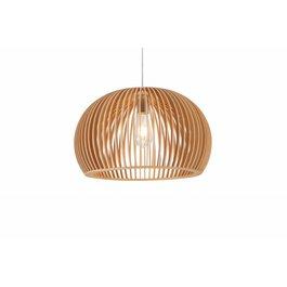 Madera Hanglamp Hout Rond Houtkleur 45 cm - Madera Castano
