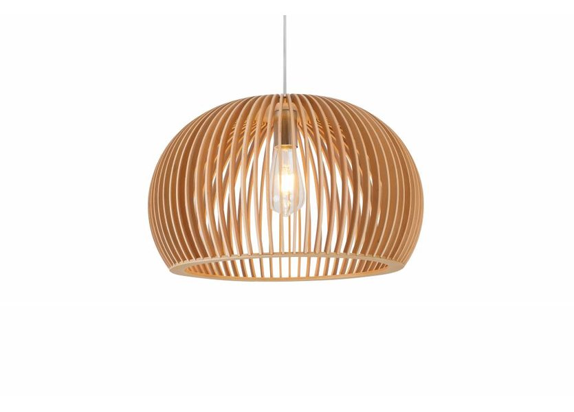 Hanglamp Hout Houtkleur - Madera Castano