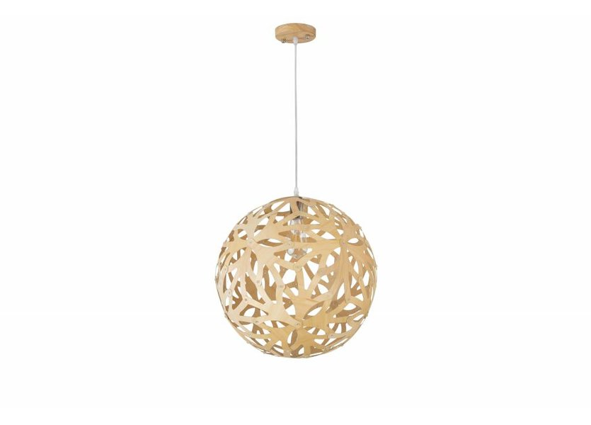 Hanglamp Hout Houtkleur - Madera Pino