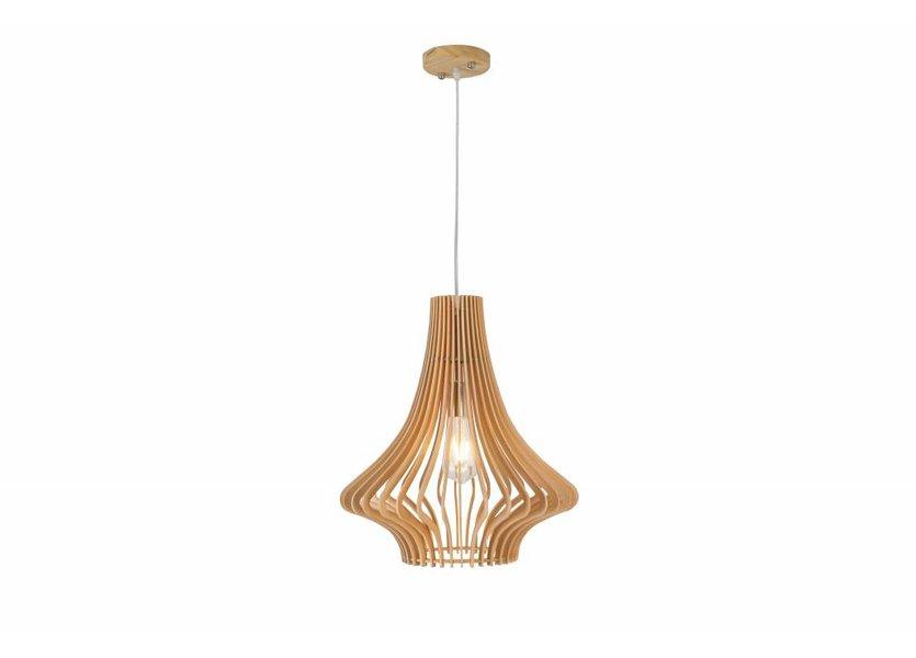 Hanglamp Hout Houtkleur 45 cm - Madera Abeto