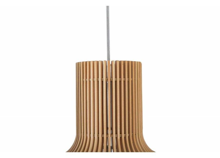 Hanglamp Hout Rond Houtkleur 45 cm - Madera Sauce