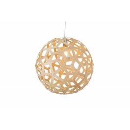 Madera Hanglamp Hout Rond Houtkleur 45 cm - Madera Arce