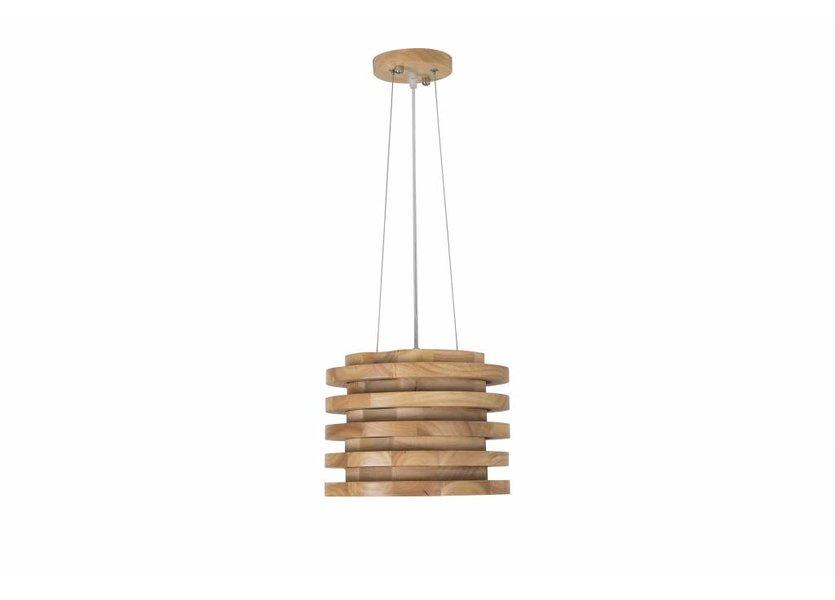 Hanglamp Hout Rond Houtkleur 40 cm - Madera Corcho