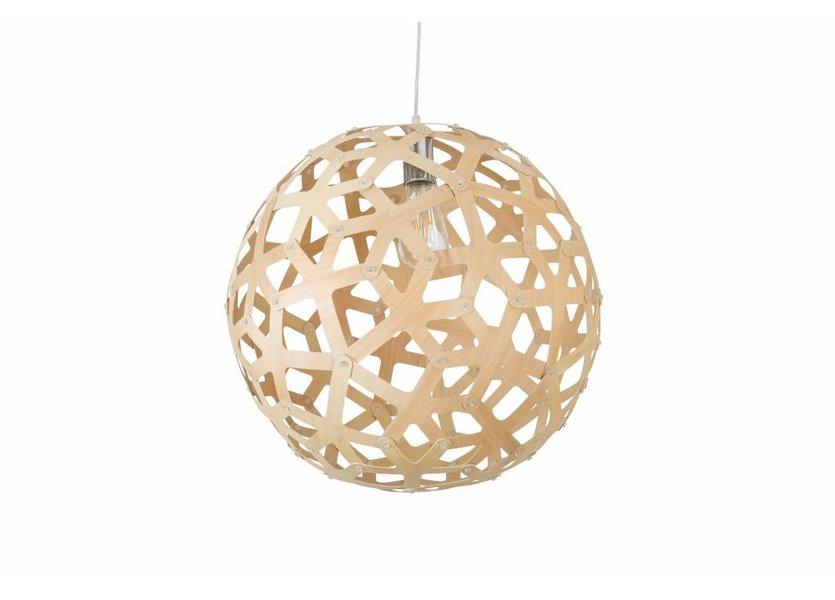 Hanglamp Hout Rond Houtkleur 45 cm - Madera Arce