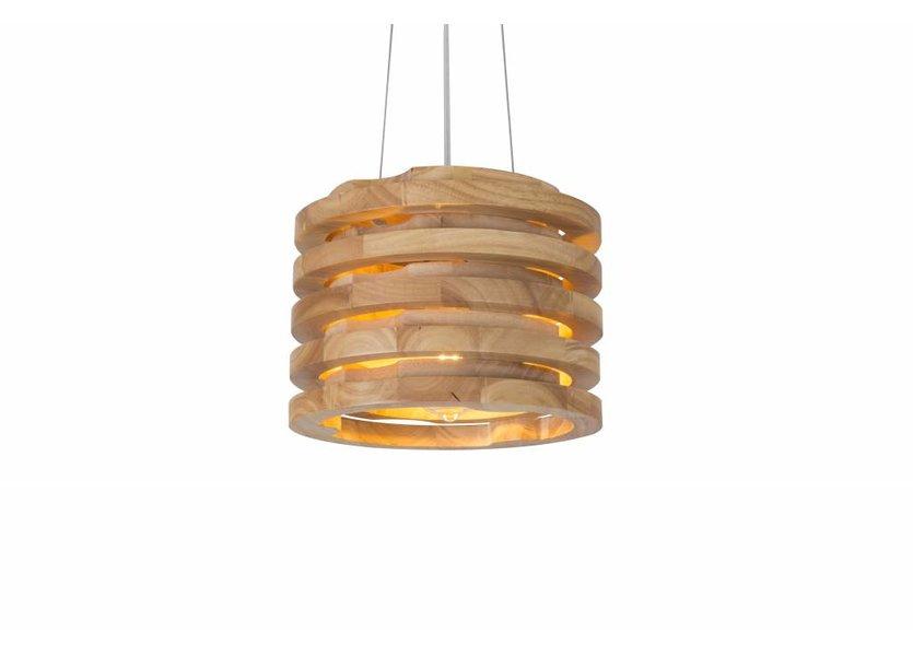 Hanglamp Hout Houtkleur - Madera Corcho