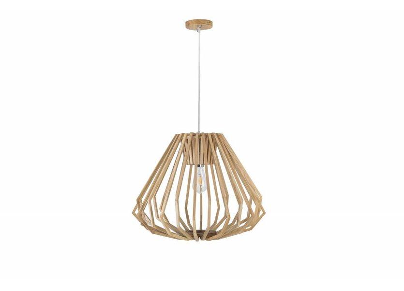 Hanglamp Hout Houtkleur 60 cm - Madera Alamo