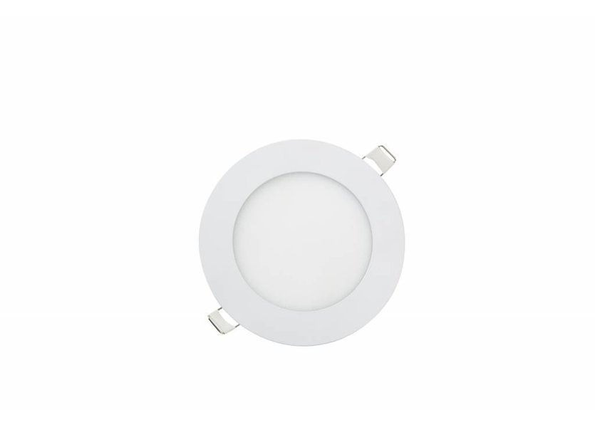Ronde LED inbouwspot Ø120 x 15 mm - 6 Watt - 3000K - Crius