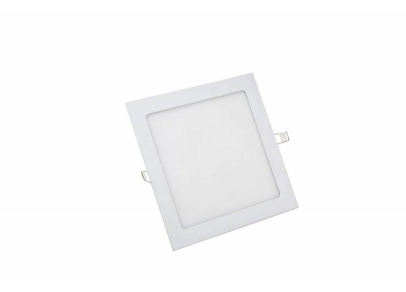 Vierkant LED paneel 225 x 225 x 15 mm - 18 Watt - 3000K