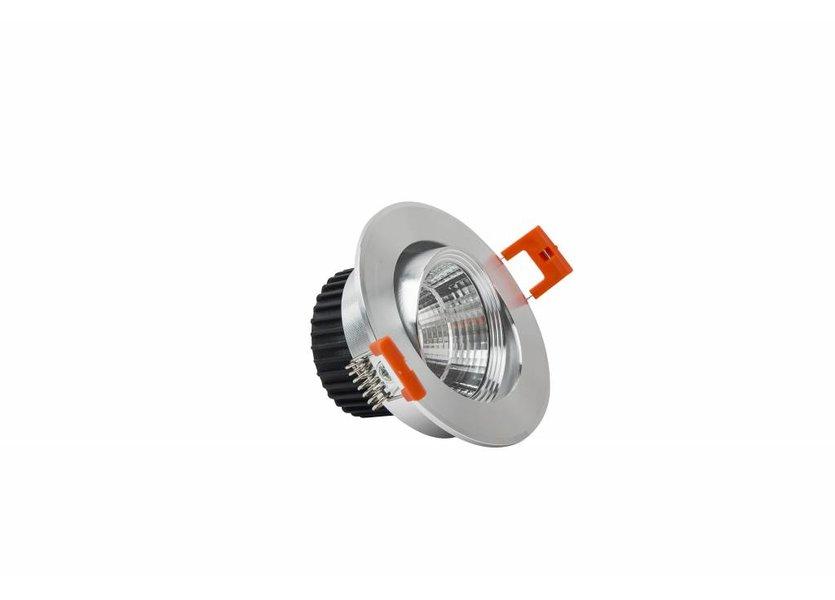 Verstelbare ronde aluminium downlight