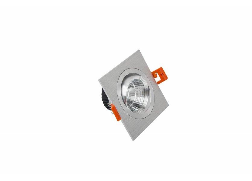 Verstelbare Vierkante Aluminium LED Downlight - Crius