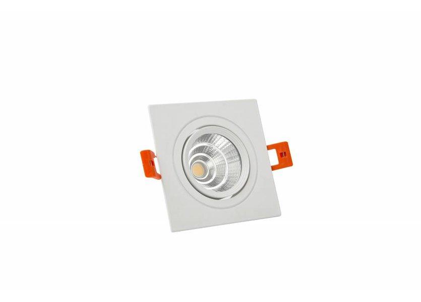 Verstelbare Vierkante Witte LED Downlight - Crius