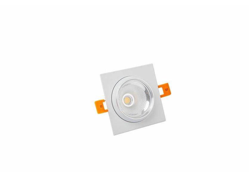 Vierkante Witte LED Downlight - Crius