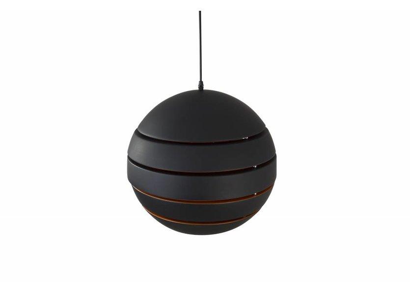 Hanglamp Rond Zwart Modern 28 cm - Scaldare Dalmine