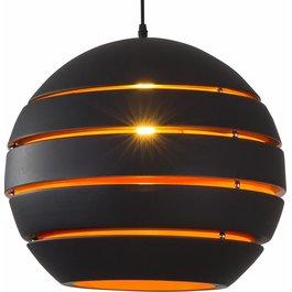 Scaldare Hanglamp Rond Zwart Modern 28 cm - Scaldare Dalmine
