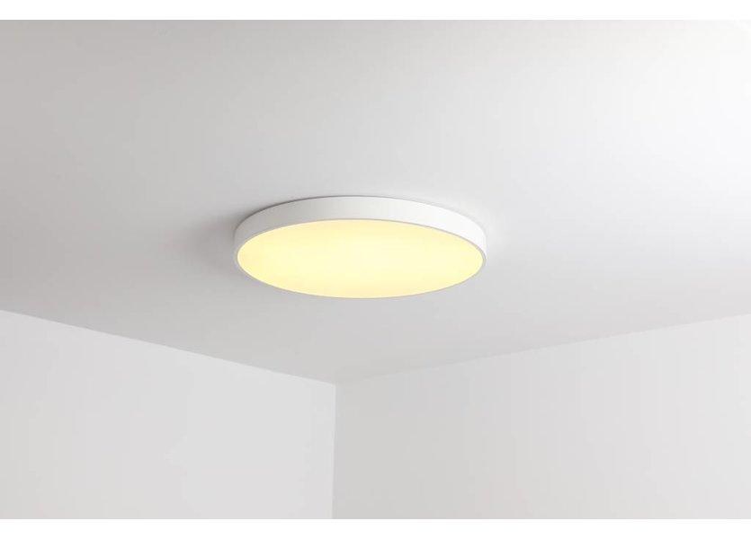 Plafondlamp Rond Wit 40 cm met ingebouwde LED - Saniled Anha Plafonnière