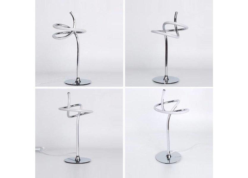 Staande lamp LED Chrome Metaal - Scaldare Bari