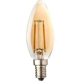 Crius Crius LED candle E14 2W 827 Amber Dimbaar