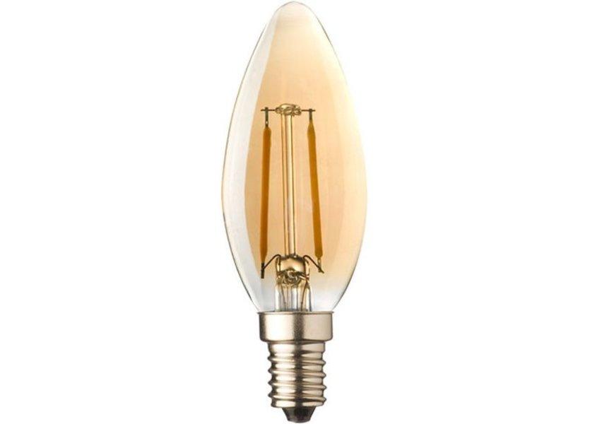 Crius LED candle E14 2W 827 Amber Dimbaar