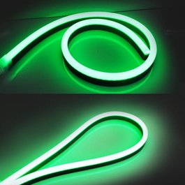 Funnylights LED Neon Flex Micro Groen 1 meter 6mm x 12mm - Funnylights