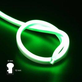 Funnylights LED Neon Flex Slang Groen 2 meter 6mm x 12mm - Funnylights