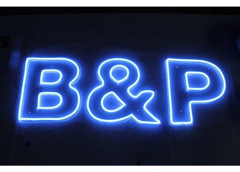 LED Neon Flex Micro Blauw 2 meter 8mm x 16mm inclusief 12V lichtnetadapter - Funnylights